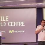 Javi presentando la Meetup de WordPress Barcelona